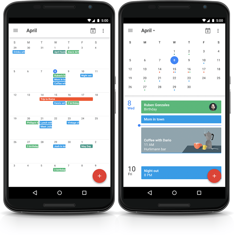 Come sincronizzare i calendari ICal di cloud-hotel su dispositivi Android